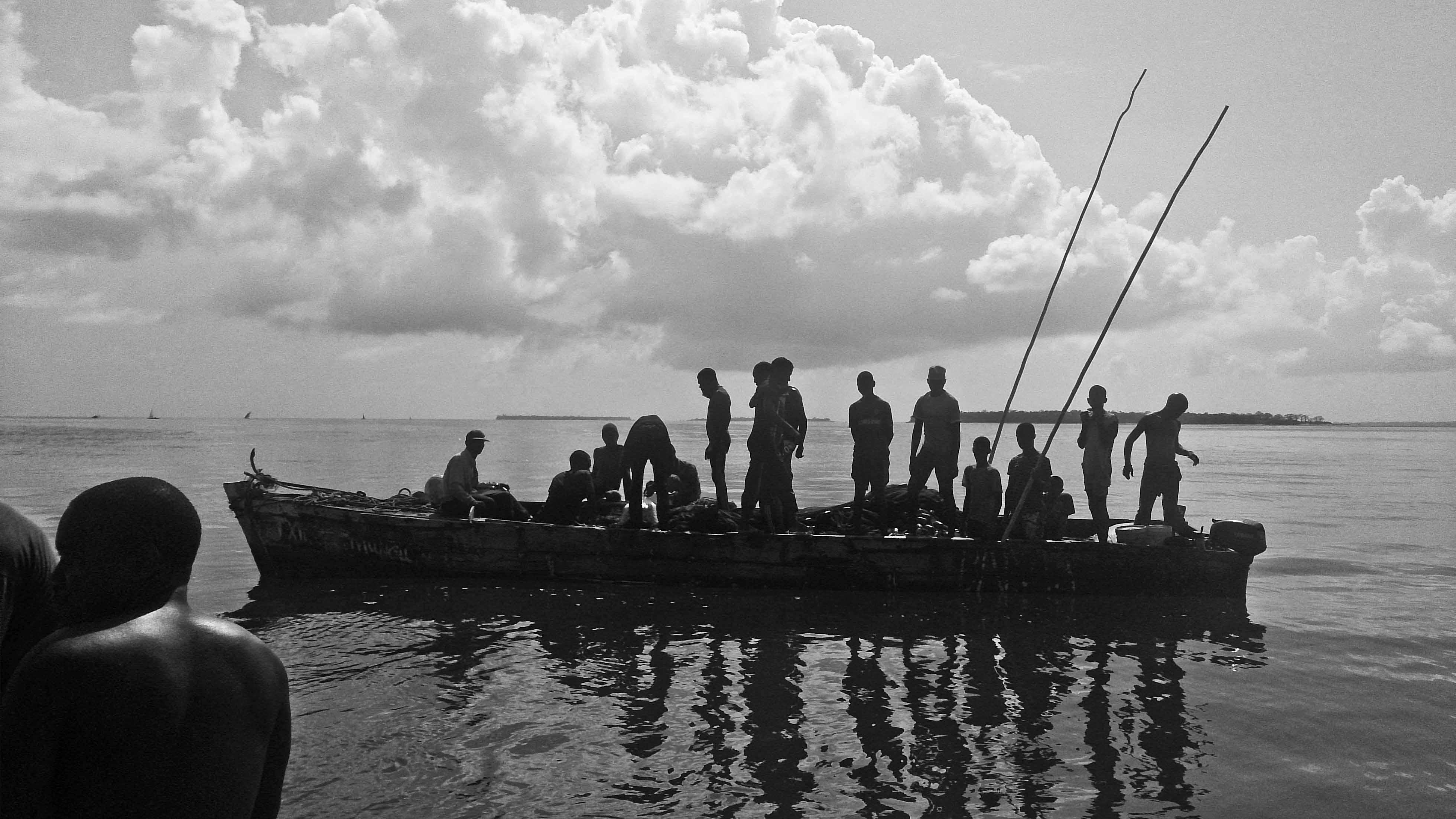 Illegal fishing vessel