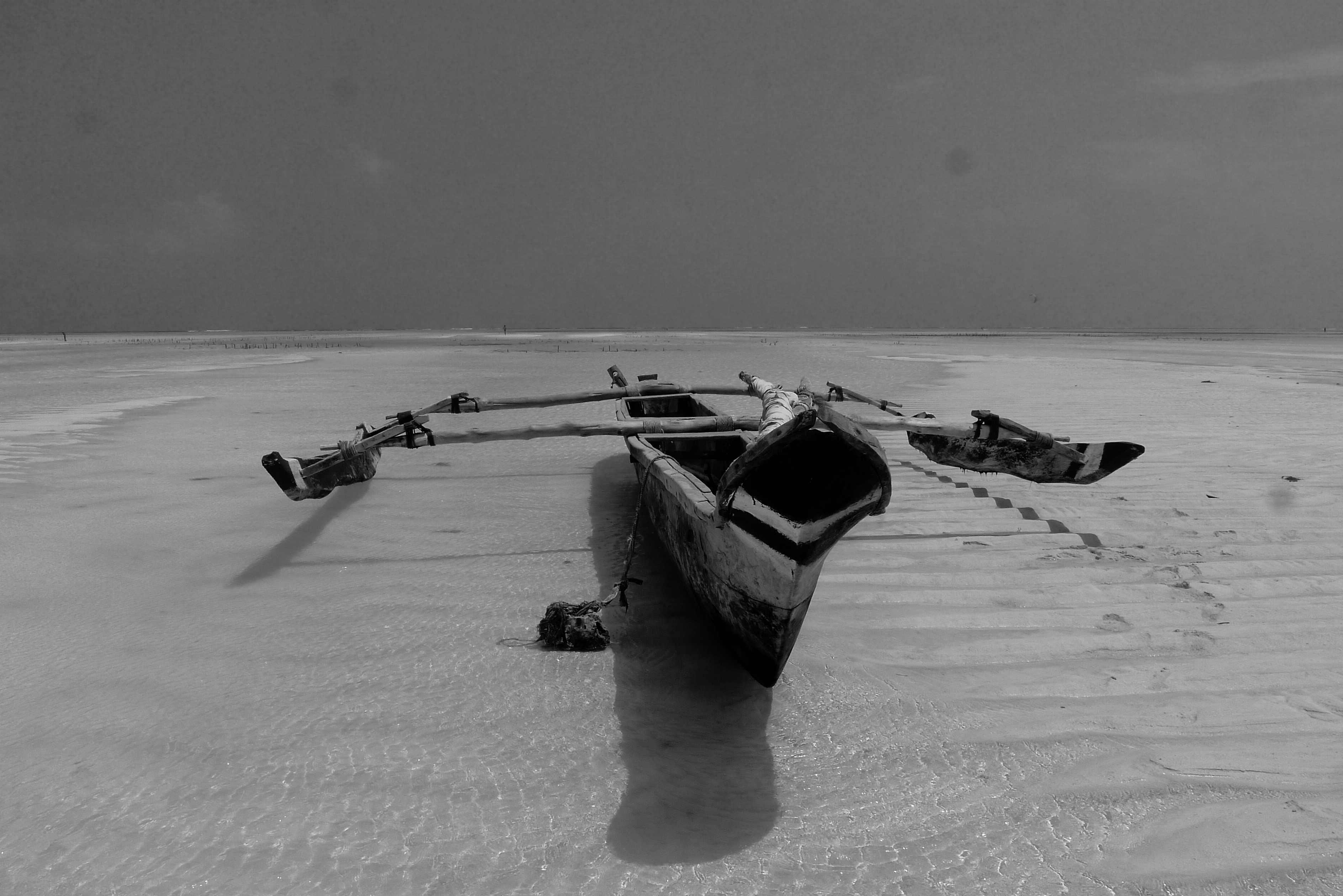 Fishing boat, Paje