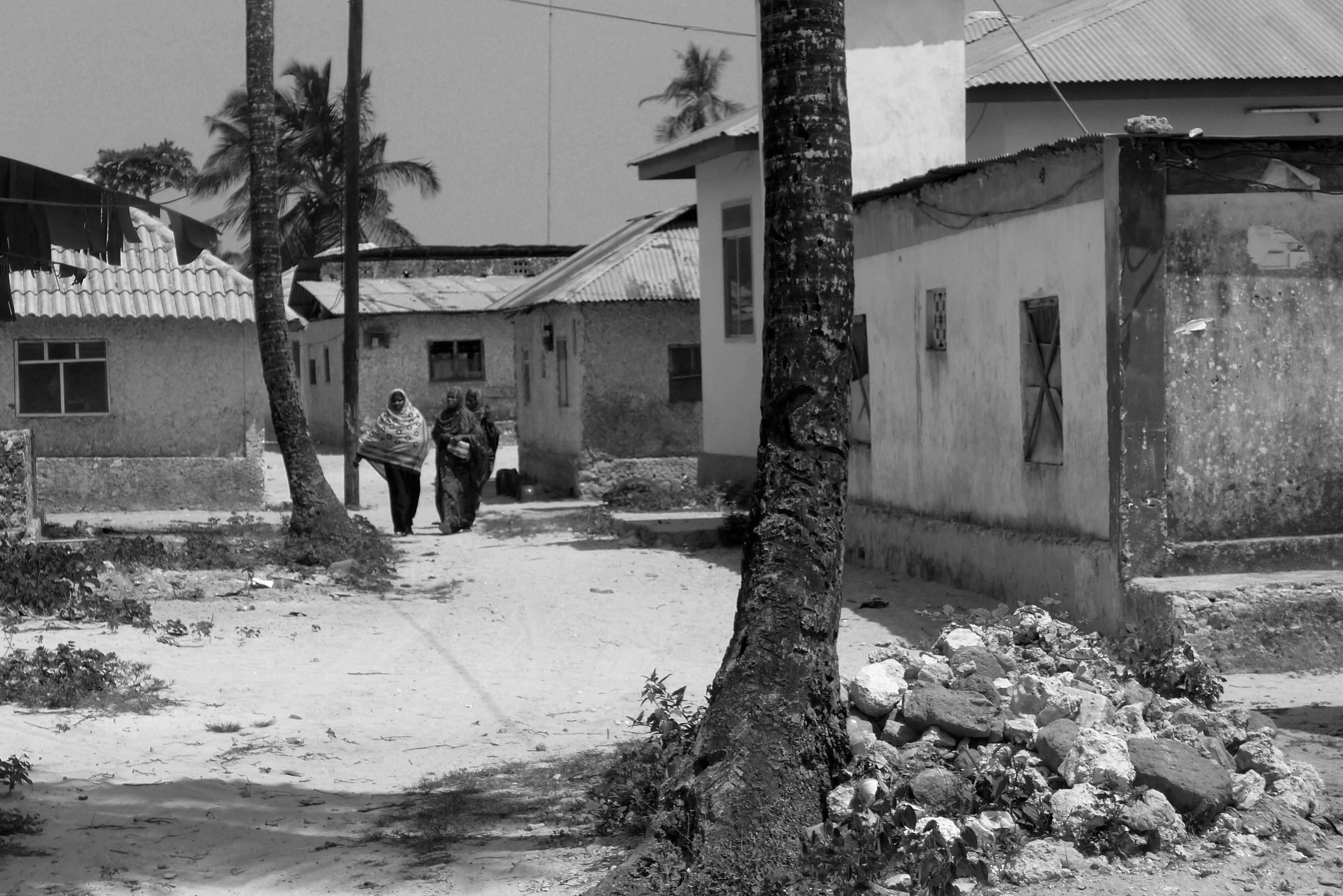 Street scene, Paje