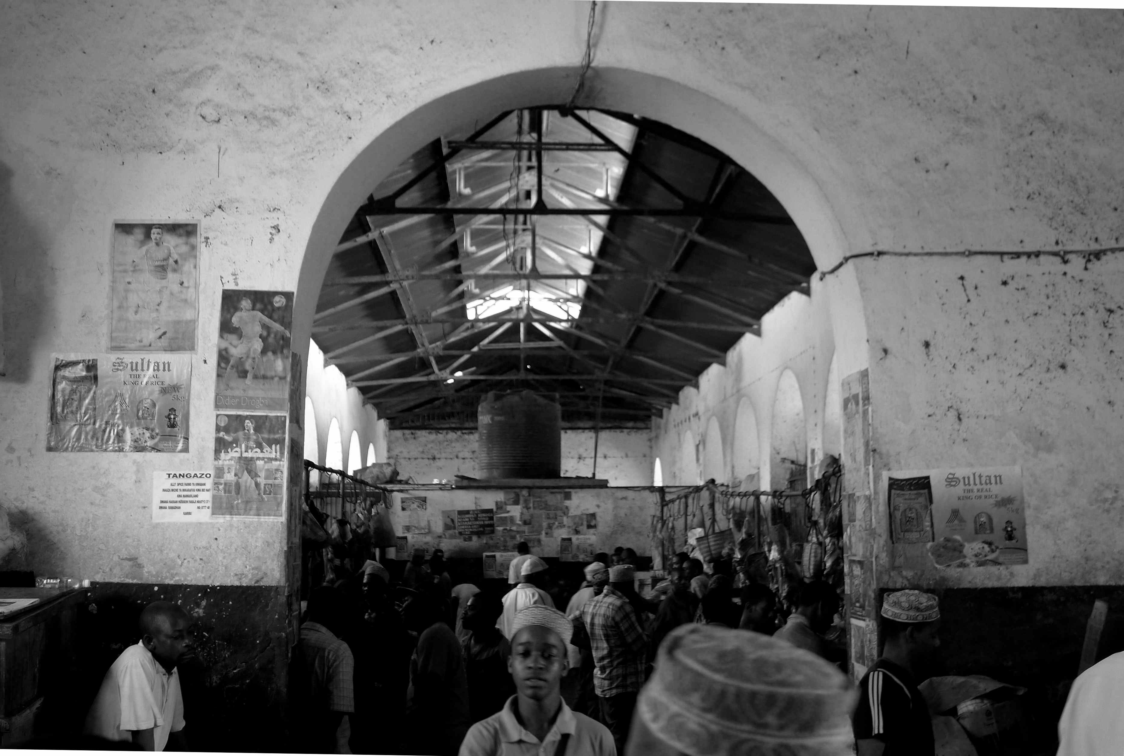 Fish market, Stone Town