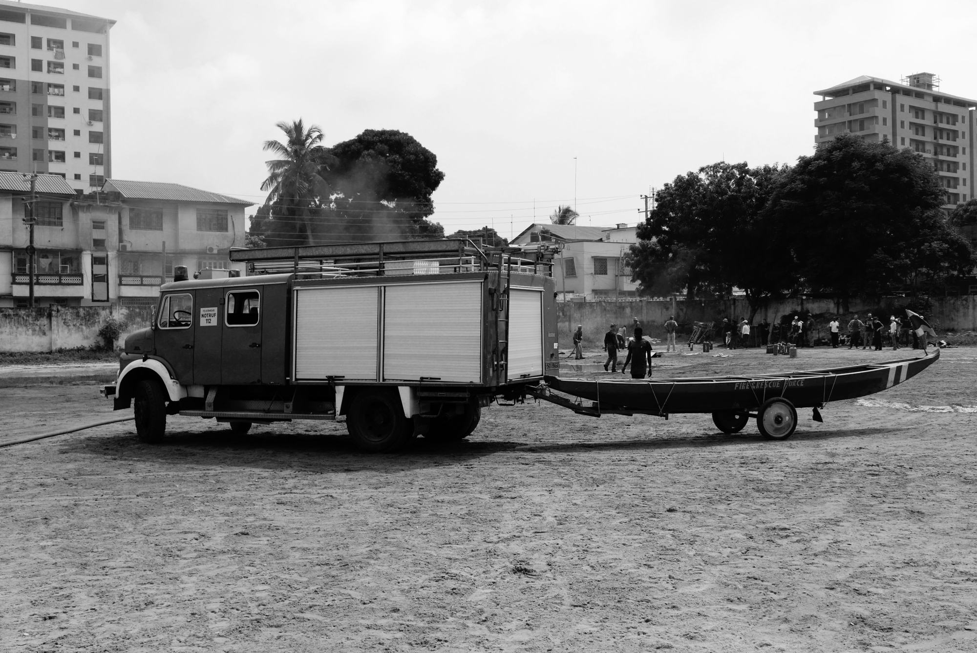 Boat trailer - First Mission