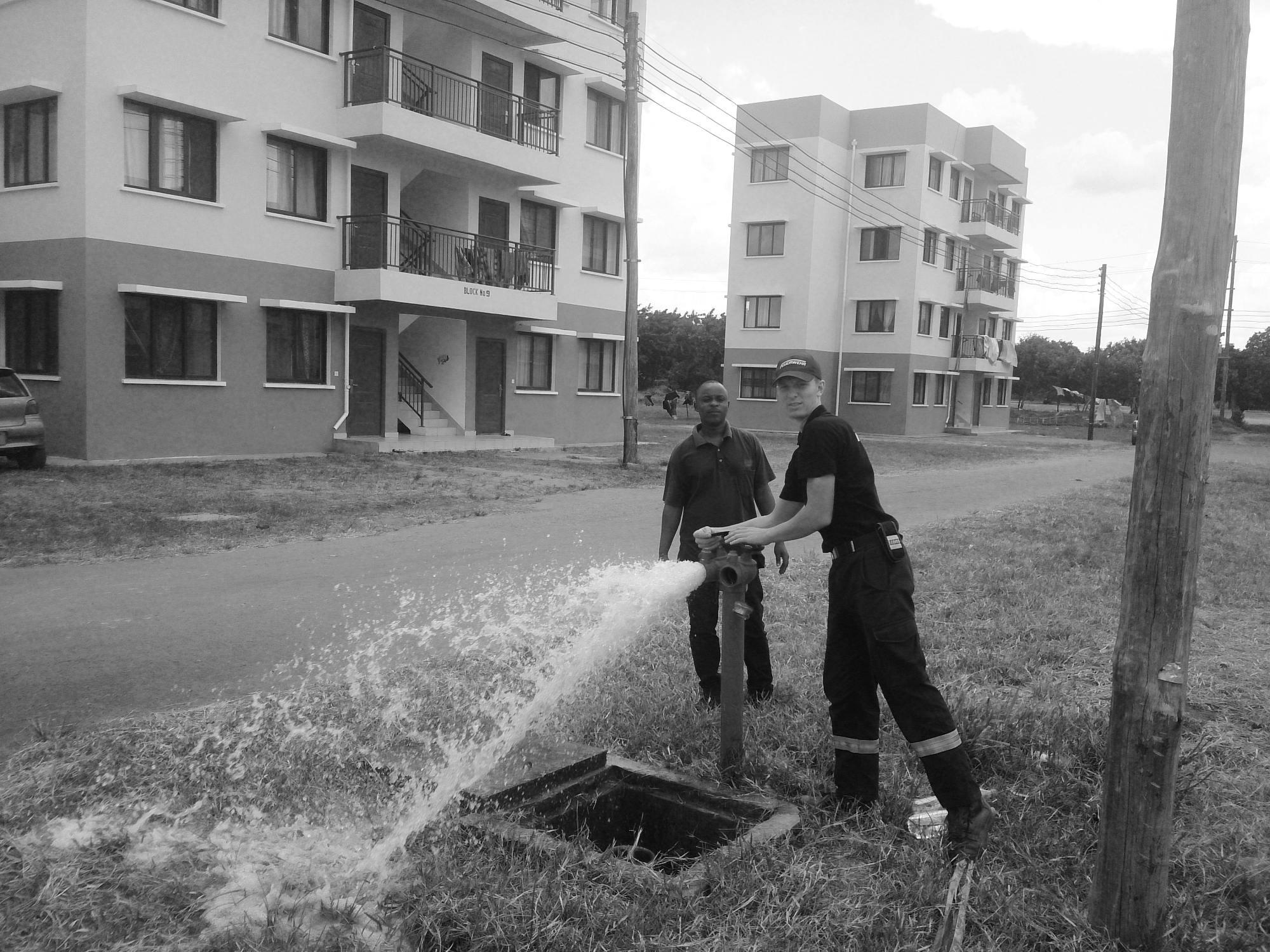 Testing Fire Hydrant