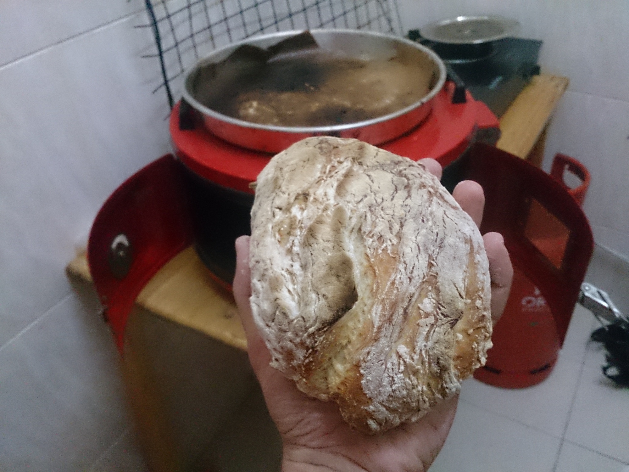 Home made bread (earlier try)