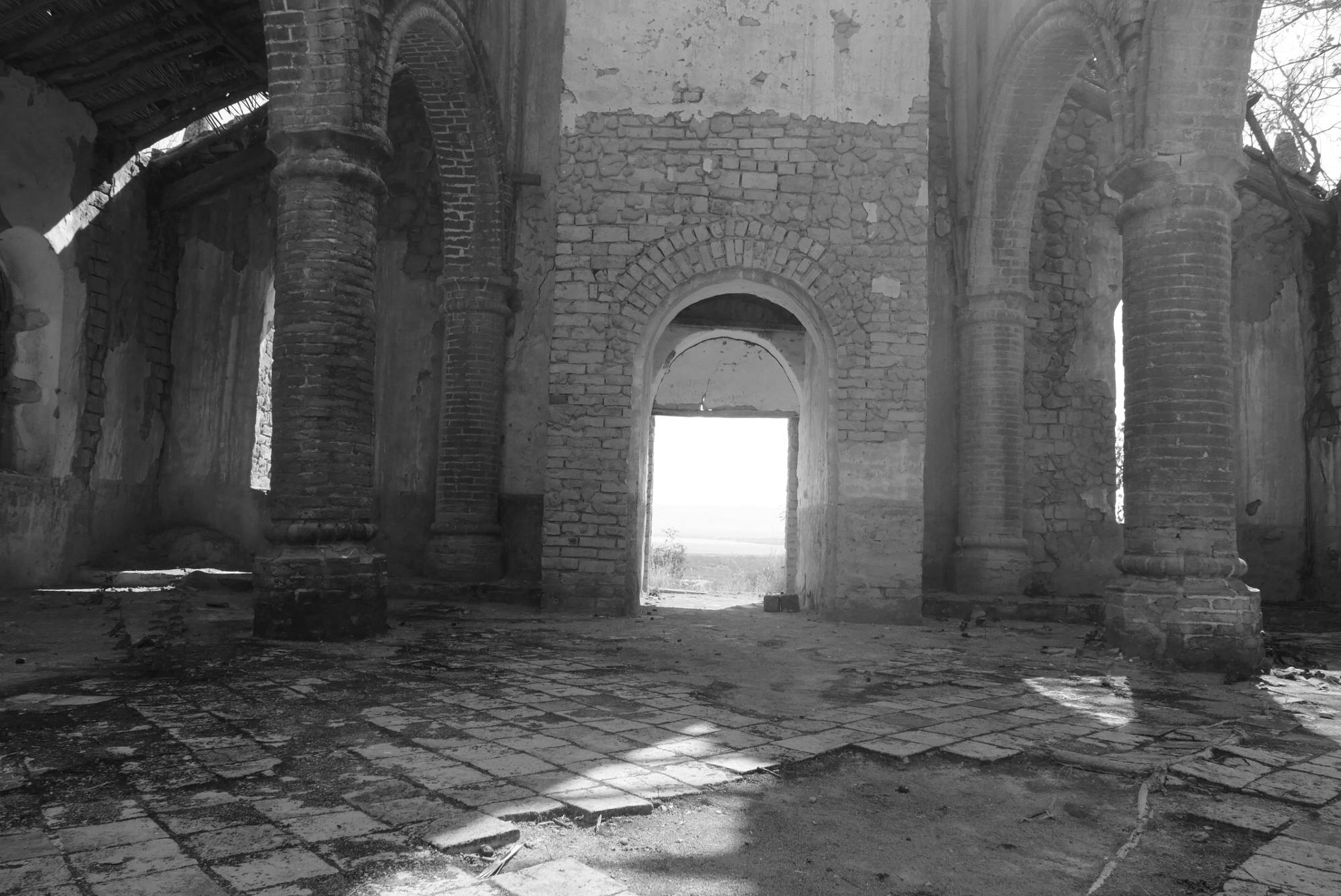 Church ruin, Interior, Kipili