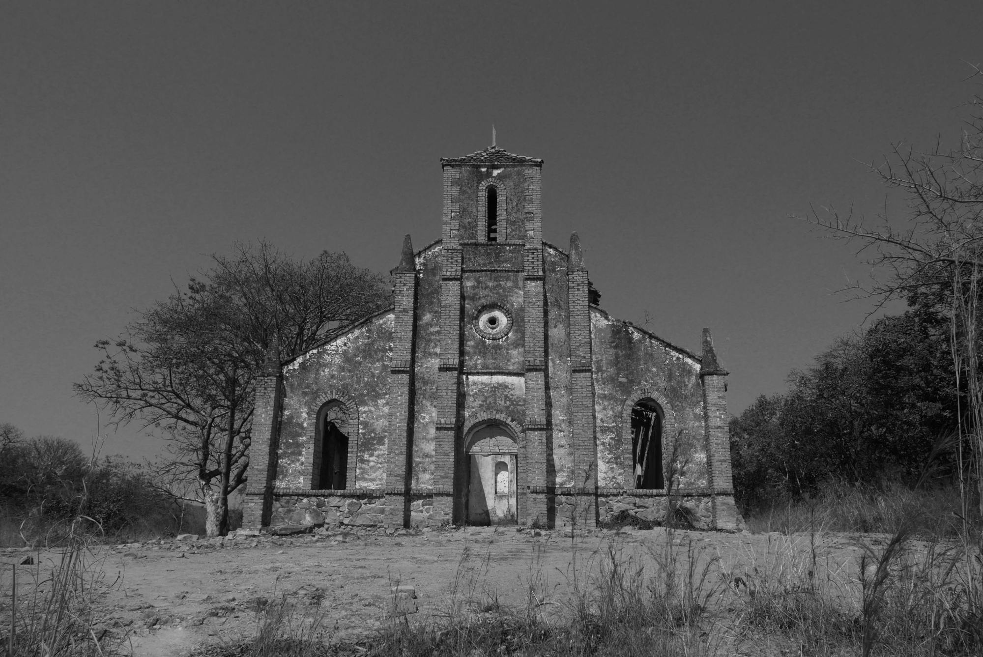 Church ruin, Front, Kipili