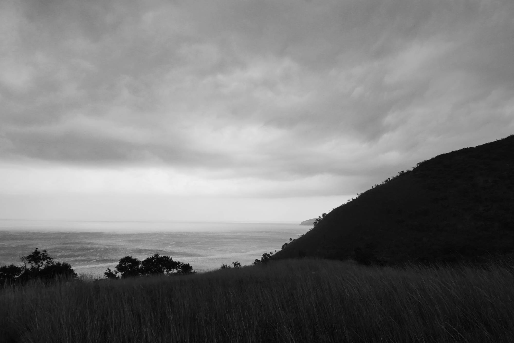 Thunderstorm over Lake Tanganyika