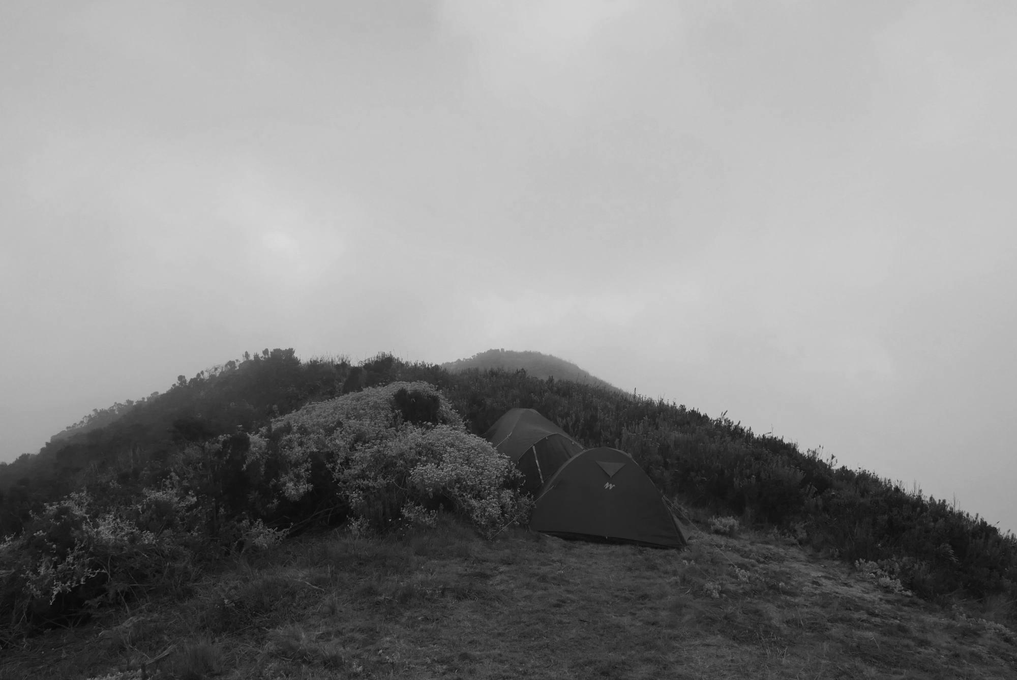 Mt. Hanang camp
