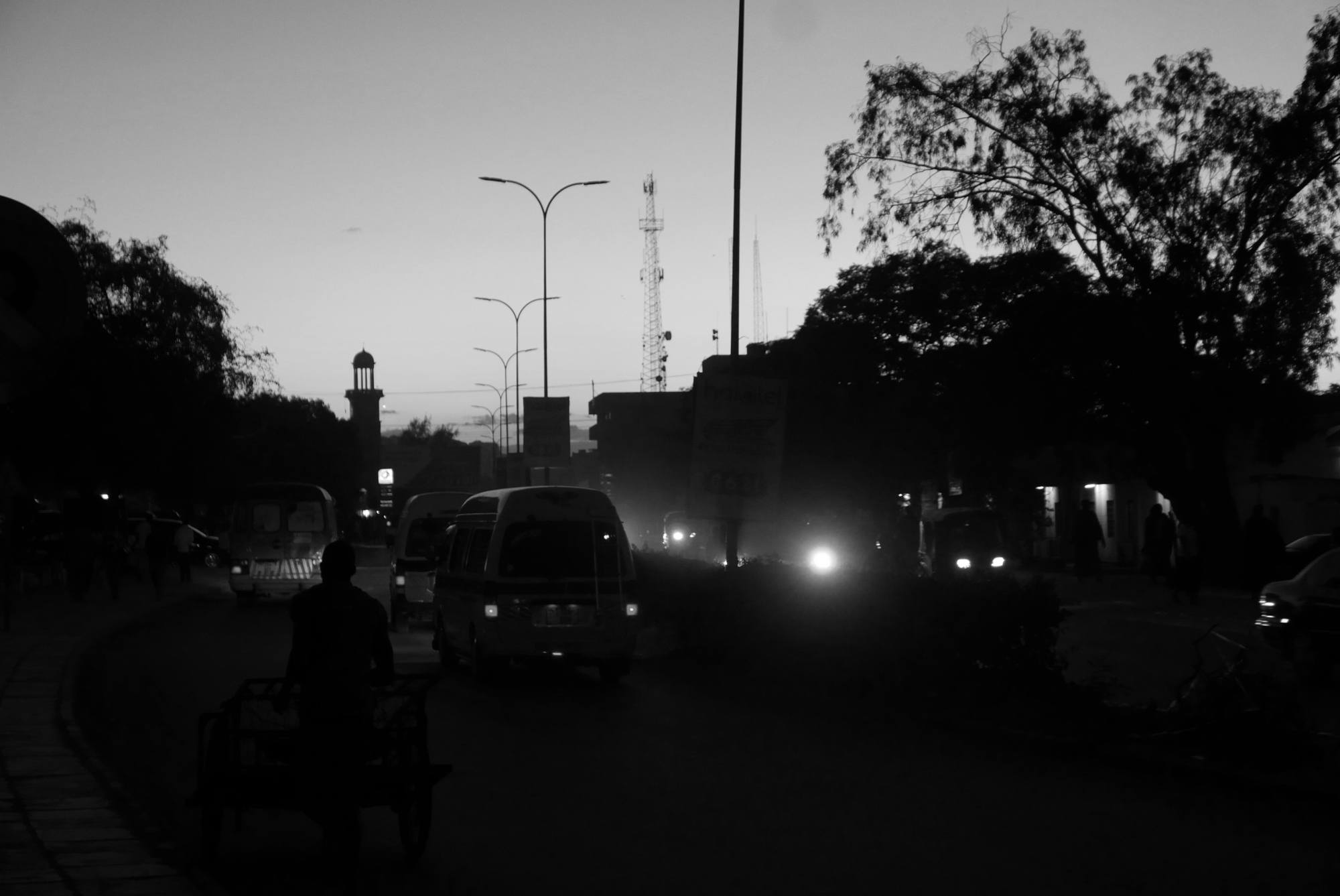 Dodoma main road