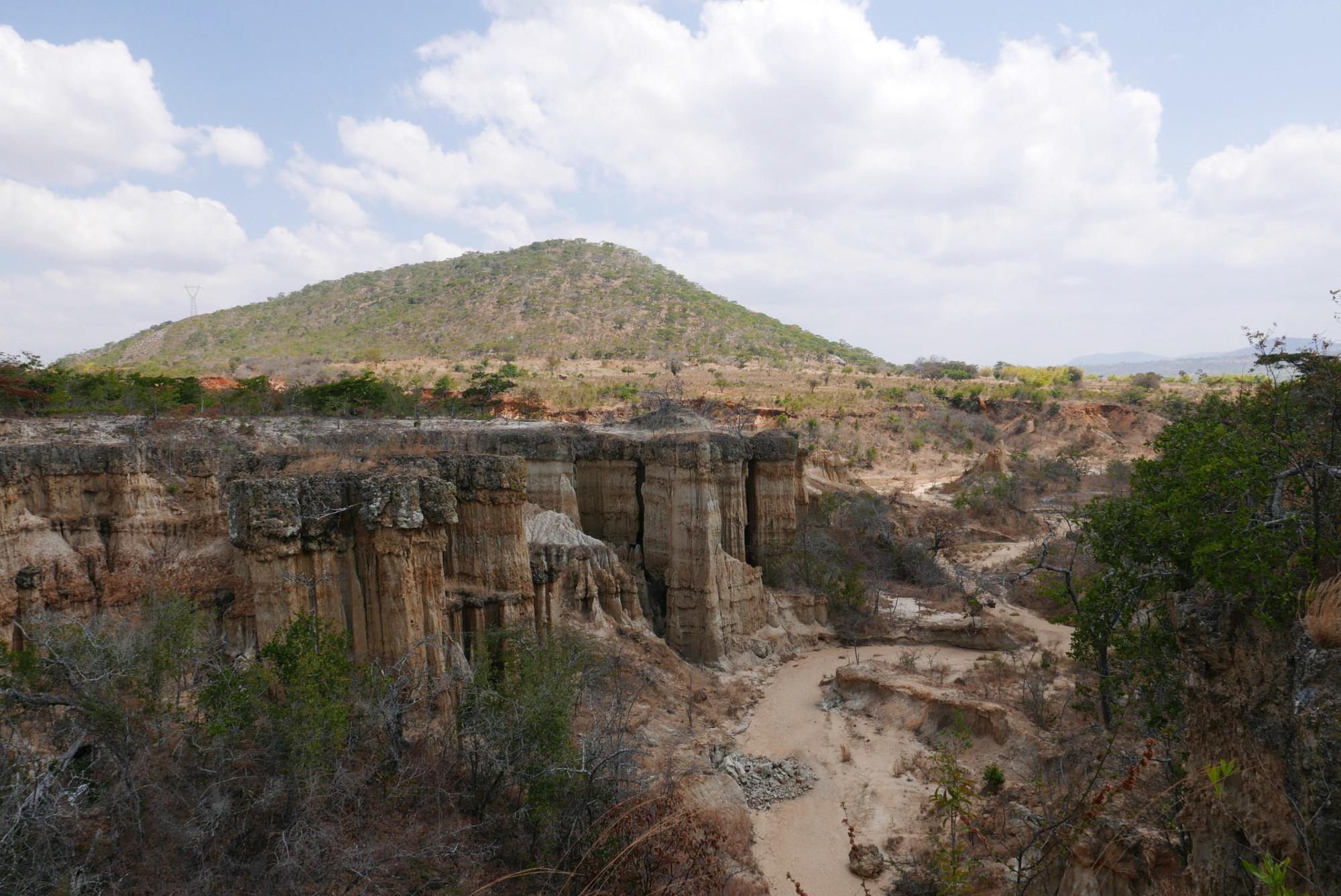 Isimila stone pillars