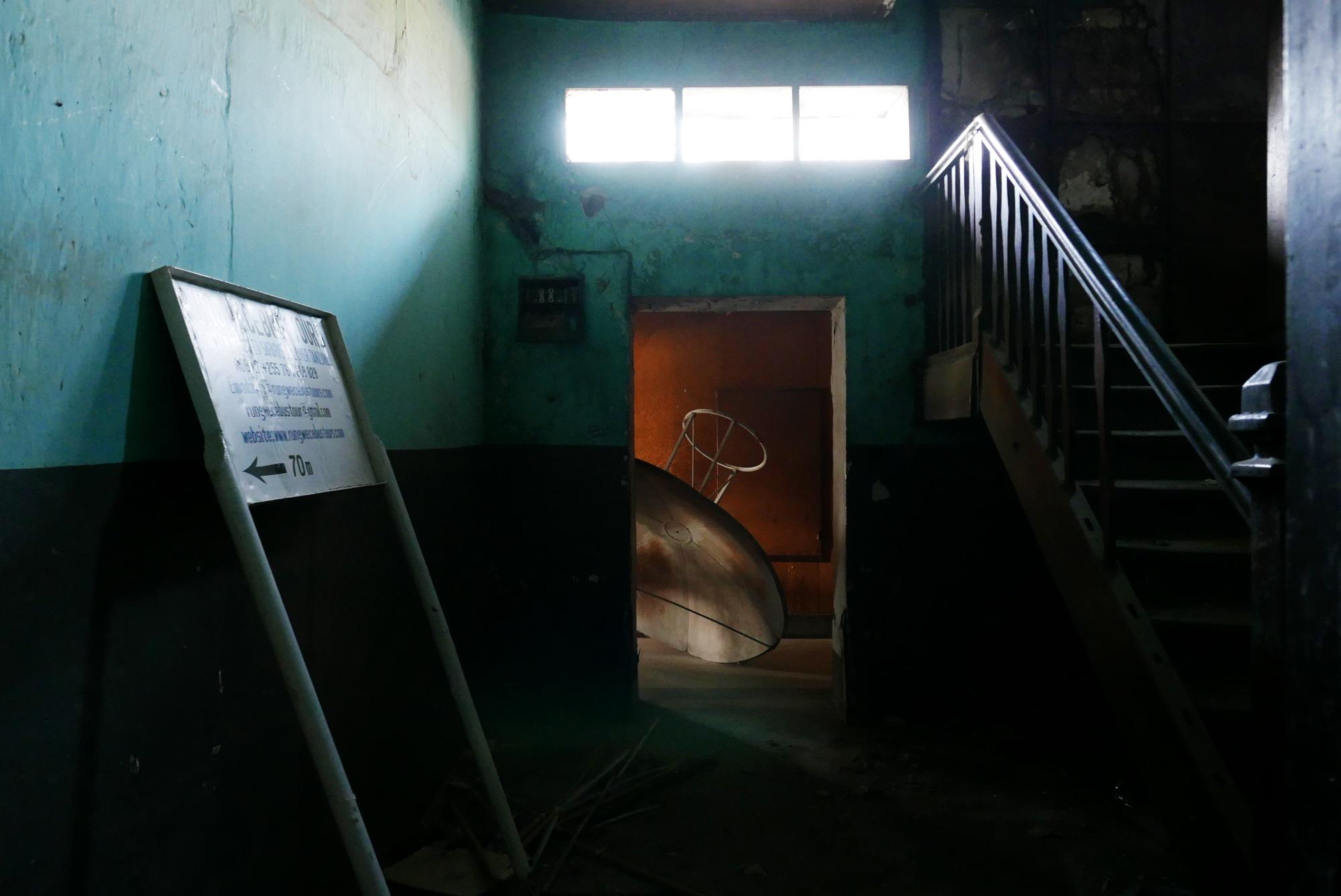 Abandoned hotel, Iringa