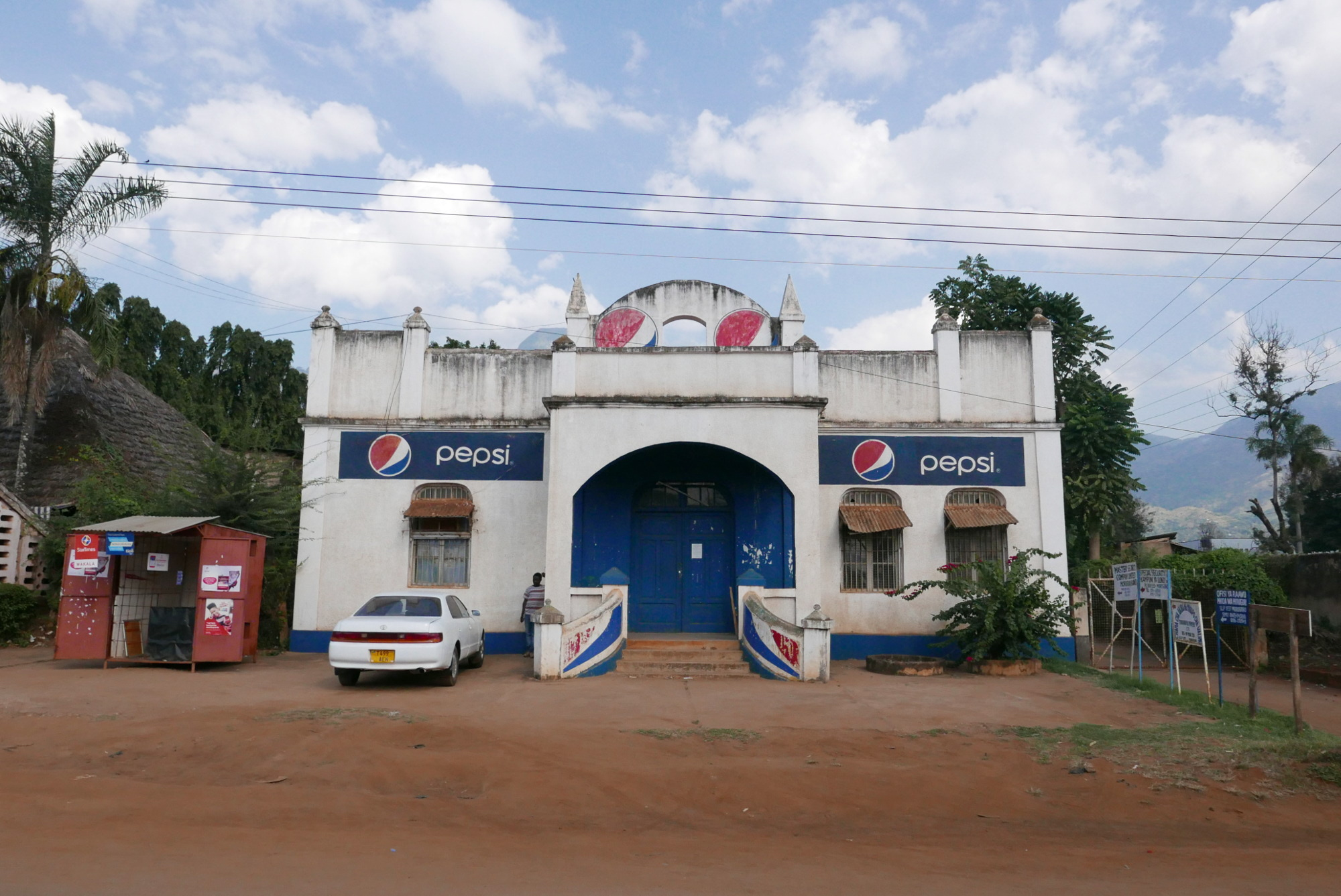 The temple of Pepsi, Station Road, Morogoro