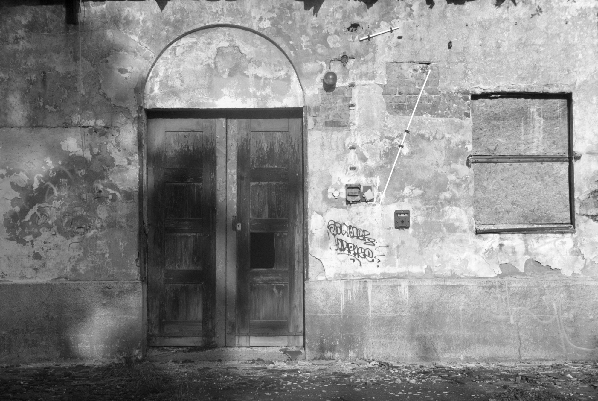Door and graffiti